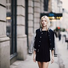 Pyper America Smith. She has an amazing personality and sense of style. Her outfits are sometimes quite simple but I defiantly look up to her.