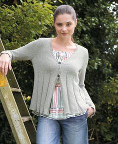 Free knitting pattern - Muse by Martin Storey in Rowan Pima Cotton DK: http://www.mcadirect.com/shop/rowan-pima-cotton-dk-discontinued-p-2516.html
