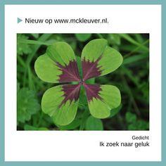 Zittend op de stoel Het is kwart over drie Handen onder mijn kin Wachtend op de woorden Voor op het vel papier De andere 197 woorden van dit gedicht vind je terug op mijn blog www.mckleuver.nl. 🍀