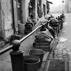 only 50 years ago, Tamka street, Warsaw