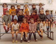 photo de classe maternelle 1970