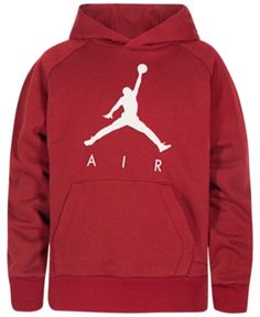 e0976d50cd3f Jordan Big Boys Jumpman Fleece Hoodie - Black XL (18 20)