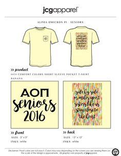 #alphaomicronpi #aopi #seniors