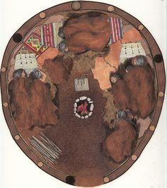 Sioux Tipi - Shelter - Historical Cultural Studies, Tiburon/Belvedere, CA | Telli