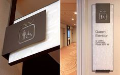 Elevator signage at Sheraton Centre Toronto by Forge Media + Design