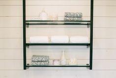 Magnolia Fixer Upper, Magnolia Homes, Small Shelves, Bathroom Renos, Bathroom Medicine Cabinet, Shelving, House, Shelves, Home