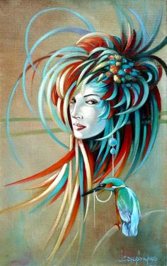 #5 of  Beautiful oil paintings by Jean Claude - Harmony, Relaxation and Fantasy