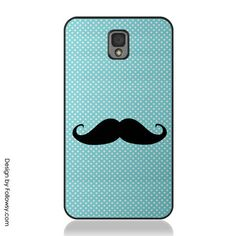 http://www.amazon.com/dp/B007FMC8I8/?tag=googoo0f-20 . Funny Mustache on Cute Blue Polka Dot Samsung Galaxy S5 Case S3 S4 Cas – Followsy ✿