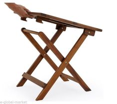 A fashionable wooden folding tea table design In furniture, tea-table also used. It is a small table for serving tea or coffee. But we don't know, a tea-table is a rock. It stays in a type of tea-table. Apart from this, tea-table also increases o Folding Furniture, Patio Furniture Sets, Ikea Furniture, White Furniture, Furniture Design, Furniture Ideas, Office Furniture, Wooden Garden Table, Garden Coffee Table