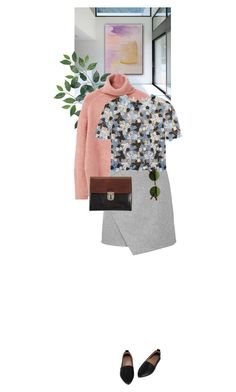 """""""Sweet"""" by dancingwithyou ❤ liked on Polyvore featuring MANGO, Carven, Erdem, Marni, women's clothing, women's fashion, women, female, woman and misses"""