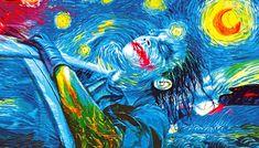 Il-transforme-des-célèbres-peintures-en-Pop-Art-Batman-1