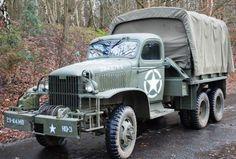 1942 GMC US Army Truck.