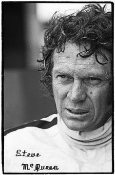 Steve McQueen, 12-hour Sebring race, 1970 by Al Satterwhite
