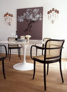 5 Considerate ideas: Dining Furniture Chairs contemporary dining furniture home.Contemporary Dining Furniture Home. Outdoor Dining Furniture, Modern Dining Chairs, Dining Room Chairs, Side Chairs, Kitchen Chairs, Modern Table, Decor Inspiration, Dining Room Inspiration, Painting Inspiration