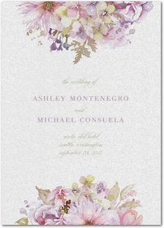 Watercolor Bouquet - Shimmer Programs - Lady Jae - Lilac - Purple : Front