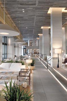 Sexed-up South Beach sleep with four pools, a farm-to-table lobby bar, and a celeb-helmed restaurant