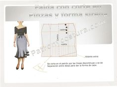 como hacer falda de nesgas - Buscar con Google
