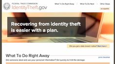 gov Shows You How to Recover From a Stolen Identity Identity Theft Statistics, Feeling Helpless, Make You Feel, Good To Know, Helpful Hints, Make It Yourself, How To Plan, Feelings, Ruin
