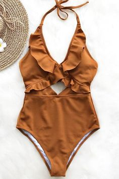 Stay With You Falbala One-piece Swimsuit Day Sale! - Stay With You Falbala One-piece Swimsuit - Brasilianischer Bikini, Strand Kimono, Summer Outfits, Cute Outfits, Holiday Outfits, Cute Bathing Suits, Cute Swimsuits, Summer Bikinis, Edgy Outfits