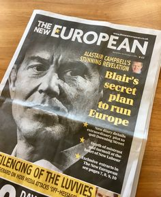 The New European, serialisation