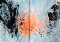 Bea Mahan: Diario visual en verano art journal