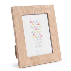 Cadre photo en bois 10 x 13 cm LAURE