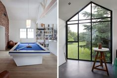 Maison V by Olivier Chabaud Pool Table | Remodelista