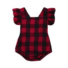 Victory! Check out my new Classic Plaid Backless Bodysuit for Baby Girl, snagged at a crazy discounted price with the PatPat app.