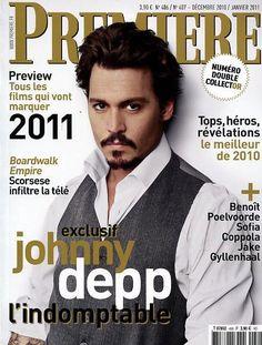 Johnny Depp Magazine Cover Photos - List of magazine covers featuring Johnny Depp