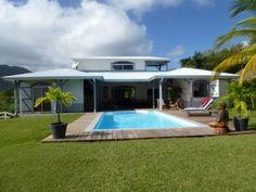 Villa Grand Bleu Magnifique villa cr�ole au calme,sans vis � vis,vue sur l' oc�an au Vauclin - Location Villa de standing #Martinique #Vauclin