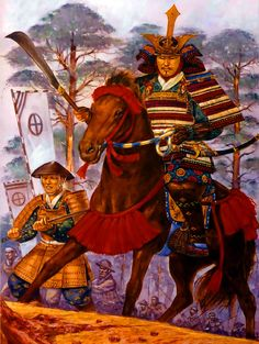 Historical Warrior Illustration Series Part Vl Samurai Weapons, Samurai Warrior, Sengoku Period, The Last Samurai, Samurai Artwork, Japanese Warrior, Japanese History, Japan Art, Karate