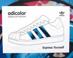 Adidas: Adicolor Blue