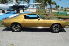 1974 Camaro    Barrett-Jackson Lot #740 - 1974 CHEVROLET CAMARO Z/28 2 DOOR COUPE