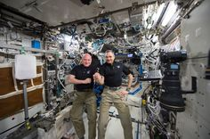 Scott Kelly is basically a Twitter celebrity because while spending a whole year on the International Space Station (ISS) he kept us updated on his twitter account. From amazing pictures of earth and space to the latest missions the ISS crew completed, Scott Kelly recorded it all... #astronaut #iss