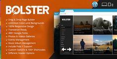 Bolster Music Band Wordpress Theme - http://fitwpthemes.com/bolster-music-band-wordpress-theme/