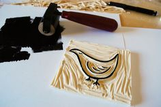 Rubber Stamp Tutorial   Olive and Owl
