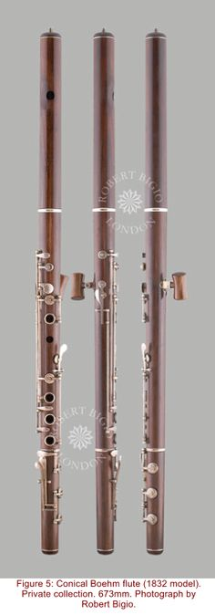 Conical Boehm flute (Boehm 1832) Music Designs, Wooden Flute, Piano, Flute Sheet Music, French Horn, Ukulele Chords, My Melody, Whistles, Music Stuff