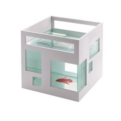 Umbra 460410-660 Pecera de cristal Fishhotel: Amazon.es: Hogar