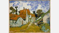 Vincent van Gogh, Rue à Auvers-sur-Oise, 1890
