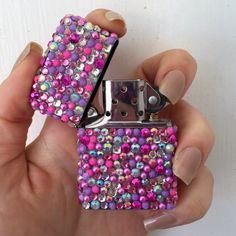 Pink + Purple Refillable Zippo