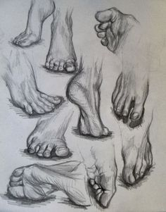 41 Foot Pencil Drawing Ideas – Keep up with the times. Feet Drawing, Body Drawing, Life Drawing, Human Anatomy Drawing, Anatomy Art, Foot Anatomy, Pencil Art Drawings, Art Drawings Sketches, Figure Sketching