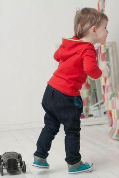 Boys denim harem pants toddler kids spring harem by yellOkids, $45.00