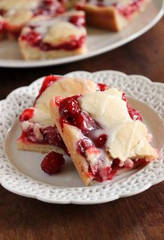 Sweet and Simple Cherry Pie Bars