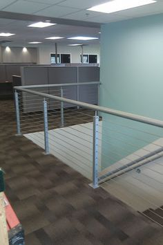 Welded Post and Rail with Stainless Cable Infill from SC&R