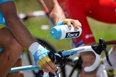 Gallery: Tour de France, stage 12 - Temperatures were high during stage 12, and riders used a variety of techniques to cool themselves down. Photo: Tim De Waele | TDWsport.com
