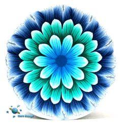 New blue turquoise dalia cane   Flickr - Photo Sharing!