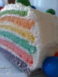 Sweets & Yummy: Tarta arcoiris