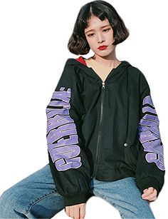 Womens Winter Hooded Paneled Loose Casual BF Thicken Cotton Both Side Wear Coat Jakcet *** BEST VALUE BUY on Amazon #HarajukuFashionJapan