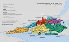 neighborhoodx map, 3d map of nyc, 3d map of new york, real estate prices new york mapped
