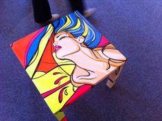 Pop-art stolik